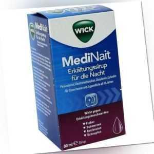 WICK MediNait Erkältungssaft 90ml PZN 2702315