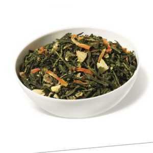 (63,20Eur/kg) LIMETTE-INGWER BIOTEE* - Aromatisierter grüner Tee (250g)