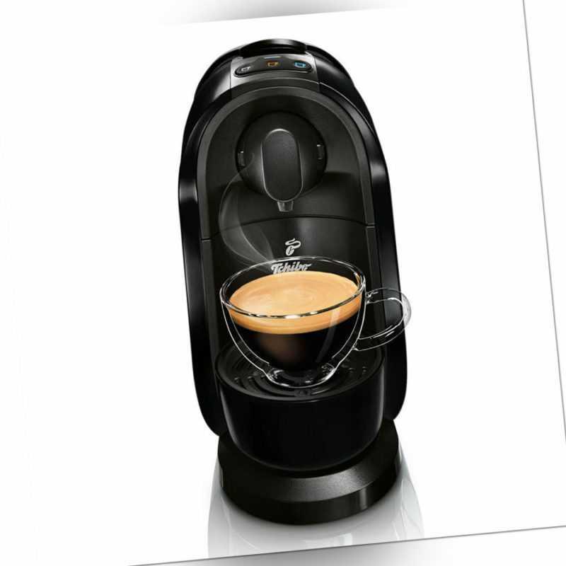 Tchibo Cafissimo Pure Kaffee Kapselmaschine, Black; EEK A