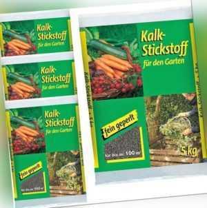 2,22€/KG - Kalkstickstoff 4x 5kg fein geperlt Garten Dünger Kalk Gemüse Kompost