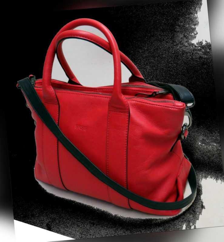 BREE Handtasche SCHULTERTASCHE Shopper TASCHE Leder LEDERTASCHE Exklusiv TOP1124