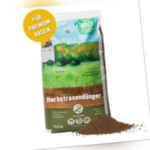 Plantura Bio Herbstrasendünger mit 3 Monate Langzeitwirkung,10,5kg