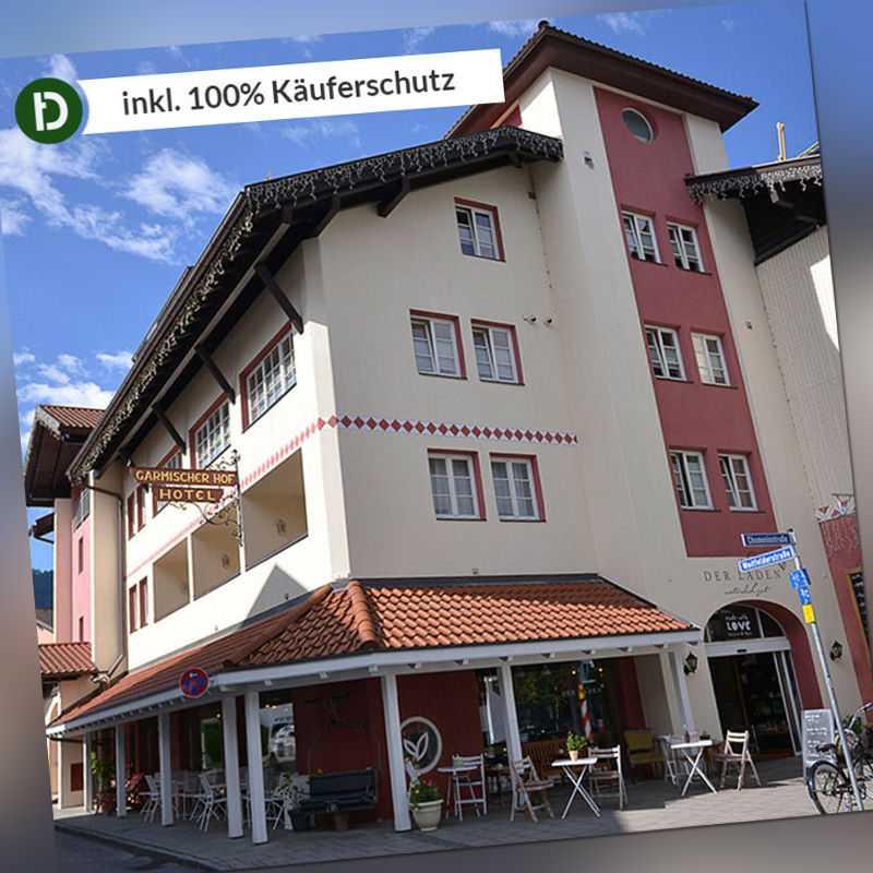 4 Tage Urlaub im Hotel Garmischer Hof in Garmisch-Partenkirchen mit Frühstück