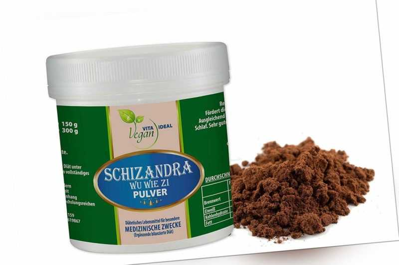 VITAIDEAL VEGAN®  Schizandra Pulver, rein natürlich ohne Zusatz.