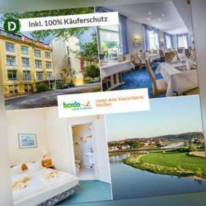 4  Tage Urlaub in Sachsen im Hotel Alte Klavierfabrik Meissen mit Halbpension