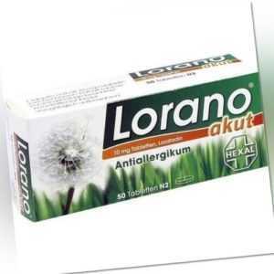 LORANO AKUT ALLERGIE TABLETTEN 50St 7222904