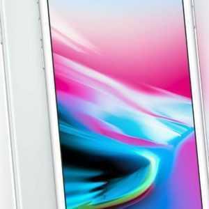 Apple iPhone 8 64GB silber Smartphone ohne Simlock MQ6H2ZDA-...