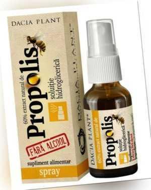 Propolis Tinktur ohne Alkohol 20ml Spray 60% natürlicher Propolis-Extrakt