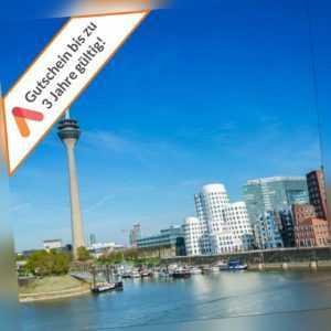 Städtereise Düsseldorf Wochenende Apartment mit Frühstück für 2 Personen 4 Tage