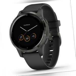 GARMIN Vivoactive 4S schwarz/black Sportuhr GPS Smartwatch Fitness Musik