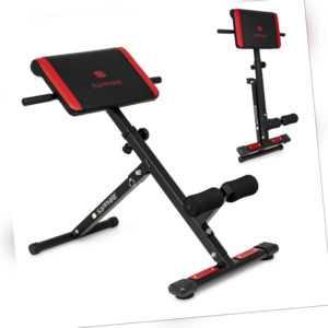 Rückentrainer Bauchtrainer Rückenstrecker Hyperextension Fitness Gerät klappbar
