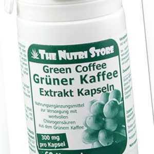 Grüner Kaffee Extrakt 300 mg Kapseln 60 Stk. - mit Chlorogensäure - PZN 09083074
