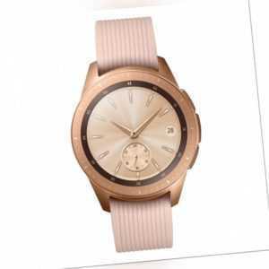 SAMSUNG Galaxy Watch LTE 42mm R815 rose gold Smartwatch Uhr Sportuhr Edelstahl