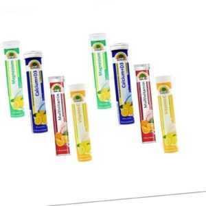 Sunlive 160 Brausetabletten Mix aus Magnesium / Calcium / Multivitamin/Vitamin C