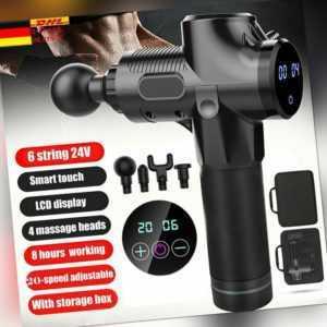 Electric Massage Gun Massagepistole Massager Muscle Massagegerät Massagepistole