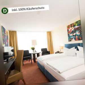 4 Tage Kurzurlaub am Rhein im Carathotel Basel mit inklusive Halbpension