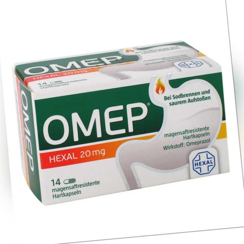 OMEP HEXAL 20mg 14stk PZN 10070208