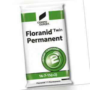 COMPO EXPERT® Rasendünger Floranid® Twin Permanent 25 kg Profidünger Langzeit