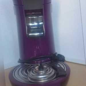 Philips Senseo HD 7826/70 violett/schwarz 18 Monaten Garantie...