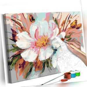 Malset mit Holzrahmen 50x40 Leinwand Erwachsene Gemälde Kit DIY n-A-0252-d-a