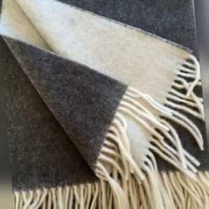 Wolldecke Wollplaid Wohndecke Überwurf Sofadecke 50%