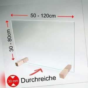 Spuckschutz Thekenaufsatz Hustenschutz Nießschutz Virenschutz Schutz Glas > M4