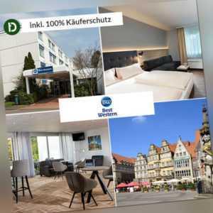 6 Tage Kurzurlaub im Best Western Hotel Achim bei Bremen mit Frühstück