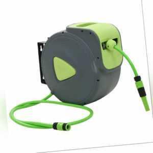 vidaXL Schlauchaufroller Automatisch 30+2m Wasserschlauch Schlauchtrommel