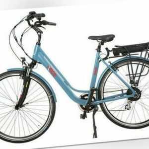 Elektrofahrrad E-Bike Herren/ Damenfahrrad Hollandrad Shimano ALU 36V 250 Watt