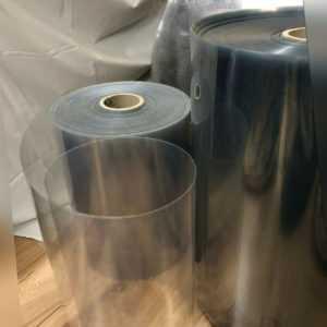 PET Folien, ähnlich Plexiglas, 0,3 - 1,5 mm, klar - Meterware Schutzwandbau