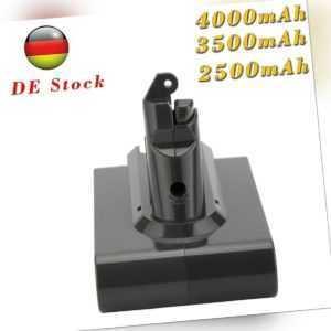 4000mAh 21.6V Akku für Dyson V6 Animal  SV03 SV09 DC58 DC59 DC61 DC62 DC72 96587