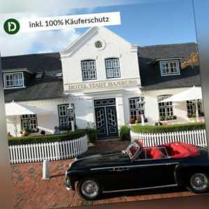 Nordsee 2 Tage Sylt Kurzurlaub Hotel Stadt Hamburg Reise-Gutschein 5 Sterne