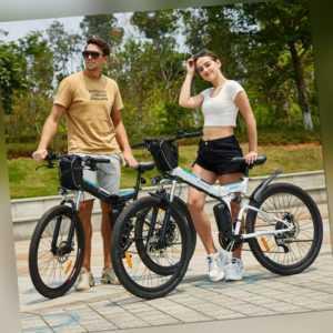 Faltbares E-Bike 26Zoll Elektrofahrrad Mountainbike Klapprad Citybike 250W Motor