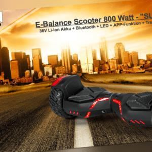 E-Balance Scooter Elektroroller Smart Wheel Elektro E-Board E-Scooter SUV 800W