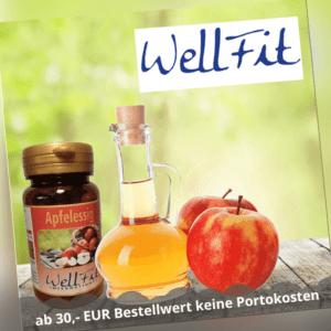 Wellfit - Apfelessig - 60 Kapseln HAUT HAARE FETTVERBRENNUNG STOFFWECHSEL