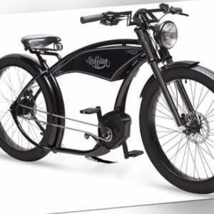 Ruff Cycles The Ruffian E-Bike im Vintage-Style, Bosch Perf CX Gen2 500Wh Schwar