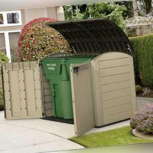 """Keter Gartenbox """"Store it Out Ultra"""" Fahrradbox, Mülltonnenbox, Gartenschrank"""
