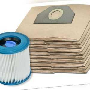 SET 5 - 20 Staubsaugerbeutel +/- Filter für Kärcher MV 3, WD 3, 6.959-130