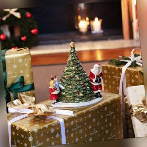 VILLEROY & BOCH Christmas Toys Figur Santa am Baum Teelicht Weihnachtsdekoration
