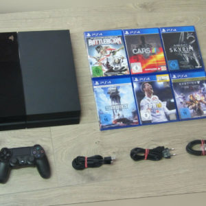 Sony PS4 Konsole 500GB + Original Controller + Gratis Spiel - Playstation 4 *