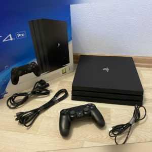 Sony Playstation 4 PS4 Pro 1TB 1000GB mit Controller Schwarz vom Händler