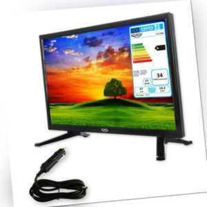 Camping TV 18,5 zoll Fernseher HD LEDTV mit SAT Receiver HD Triple Tuner DVB-S2