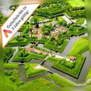 Kurzurlaub Holland Stadskanaal Groningen 3 - 4 Tage 4* City Hotel für 2 Personen