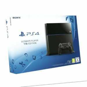 PlayStation 4 Konsole Ultimate Player 1TB Edition CUH-1216B Konsole ohne OVP