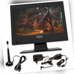 G Camping TV Xoro Tragbarer Fernseher DVB-T2 Tuner CI+ 12,5 12 V XORO PTL 1250