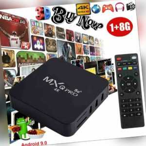 MXQ PRO 4K Android 9.0 Streaming Netzwerk Media Player HD Smart TV Box DE Stock
