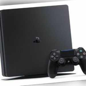 PlayStation 4 Konsole 1TB E-Chassis Sony Gaming Spielekonsole schwarz OVP fehlt