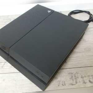 Sony Konsole PS4 - Playstation 4 CHU1004A + 500GB Festplatte ohne Controller