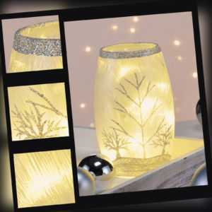 LED Weihnachtsdeko beleuchtetes Dekoglas Weihnachtsbeleuchtung Weihnachten Deko