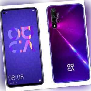 Huawei Nova 5t 128GB Midsummer-Purple Android Smartphone Handy...